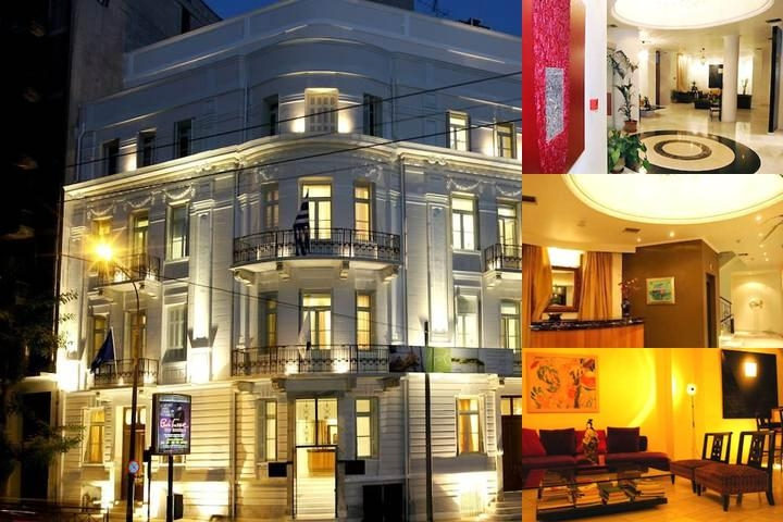 Art Hotel Athens photo collage