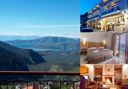 Fedriades Delphi Hotel photo collage