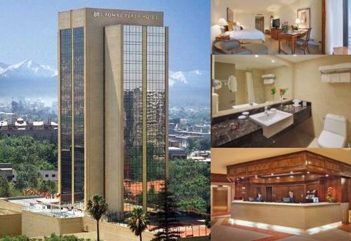 Crowne Plaza Santiago photo collage