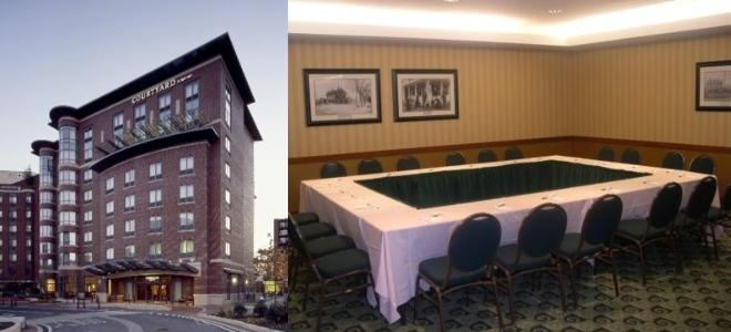 Courtyard by Marriott Boston Brookline photo collage
