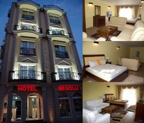 Begolli Hotel photo collage