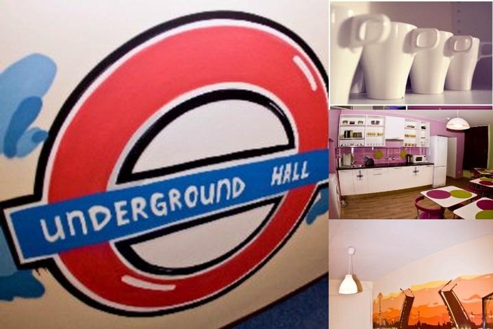 Underground Hall Hostel photo collage