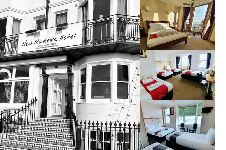 New Madeira Hotel photo collage