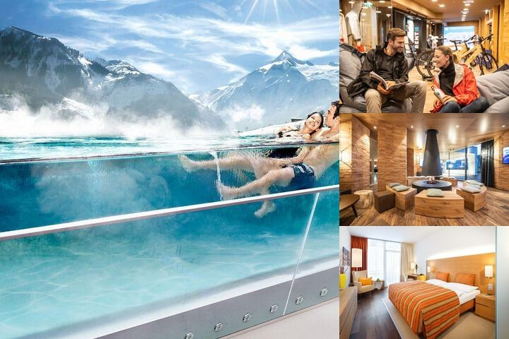 Tauern Spa Zell See Am Kaprun photo collage