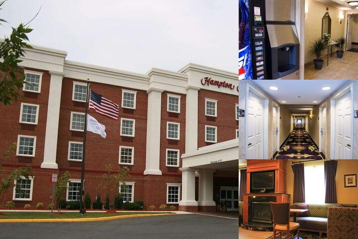 Hampton Inn photo collage