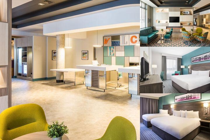 Jurys Inn Belfast photo collage