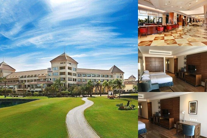 Hilton Pyramids Golf photo collage