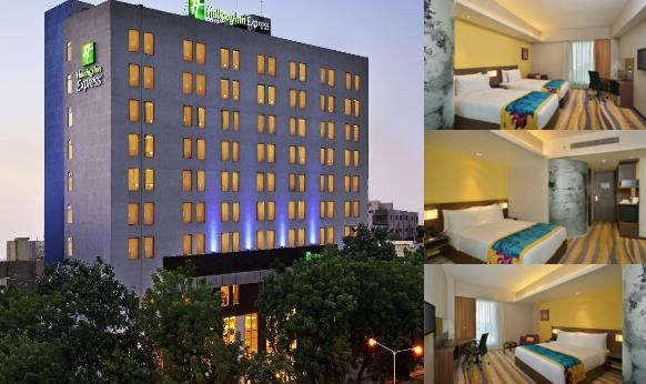 Holiday Inn Express Ahmedabad photo collage