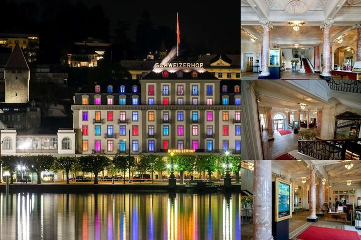 Hotel Schweizerhof Luzern photo collage