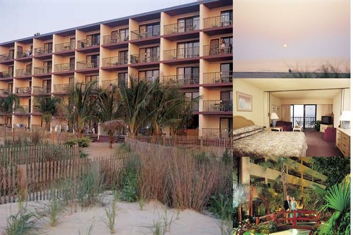 Quality Inn Oceanfront photo collage