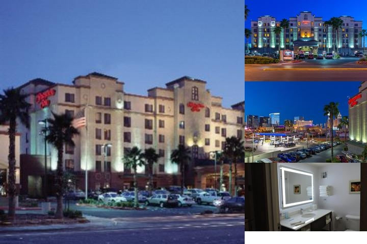 Hampton Inn Tropicana, NV photo collage