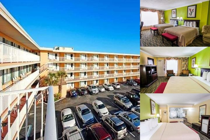 Quality Inn Oceanfront Ormond Beach photo collage