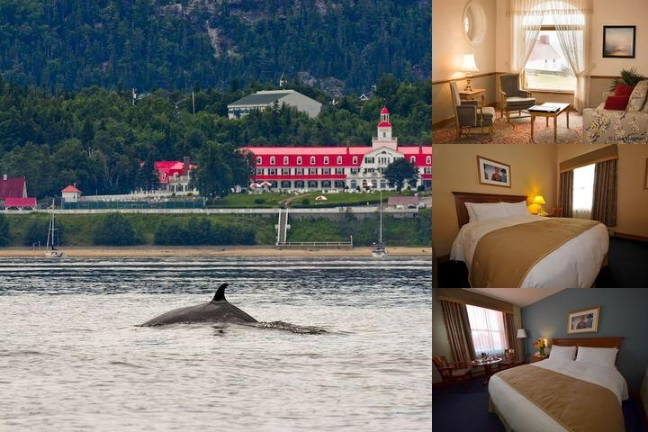 Hotel Tadoussac photo collage
