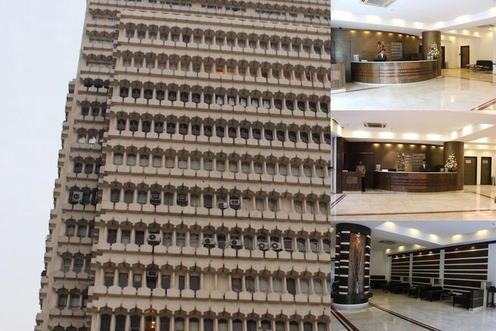 The Hans Hotel New Delhi photo collage