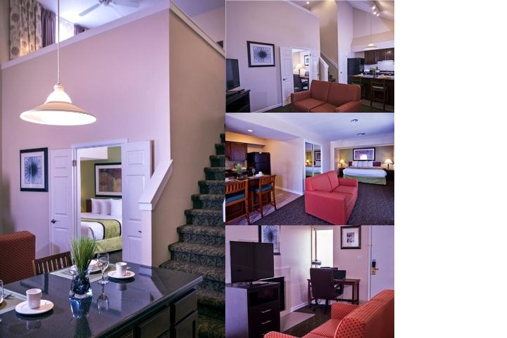 Chase Suites Hotel photo collage