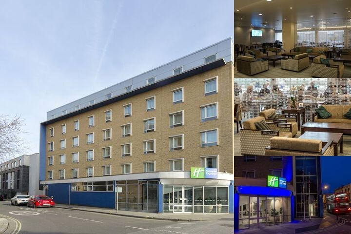 Holiday Inn Express London Earls Court photo collage