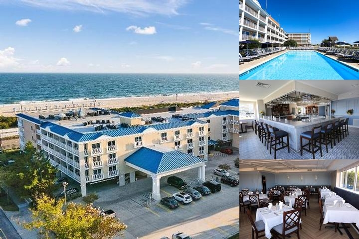 La Mer Beachfront Inn photo collage
