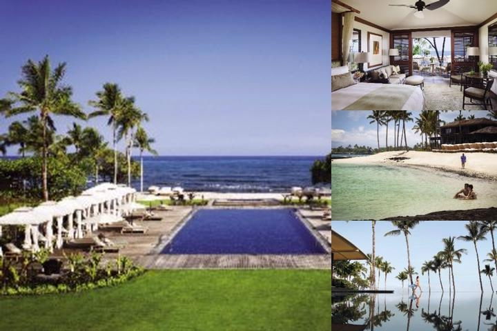 Four Seasons Resort Hualalai photo collage