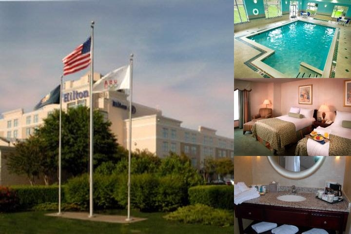 Hilton Norfolk Airport photo collage