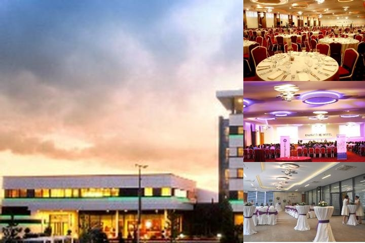Emerald Hotel Pristina photo collage
