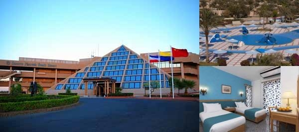 Sonesta Pharaoh Beach Resort Hurghada photo collage