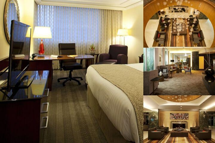 Mexico City Marriott Reforma Hotel photo collage
