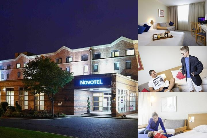 Novotel Newcastle Airport photo collage
