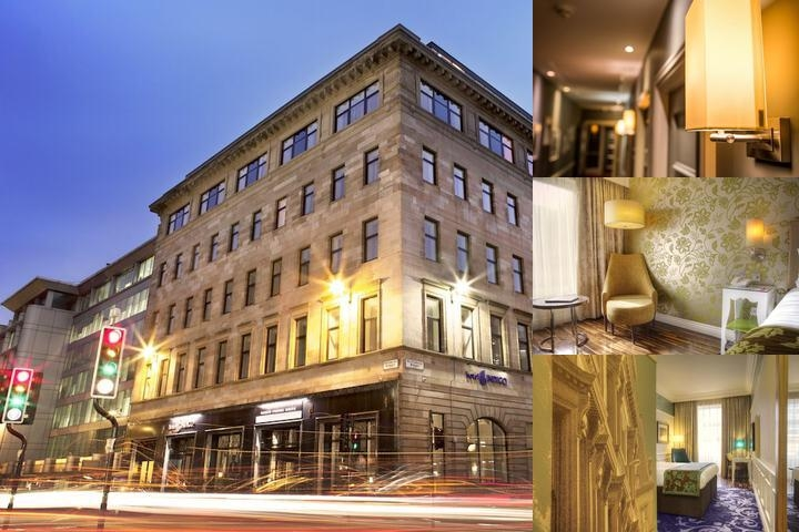 Hotel Indigo Glasgow photo collage
