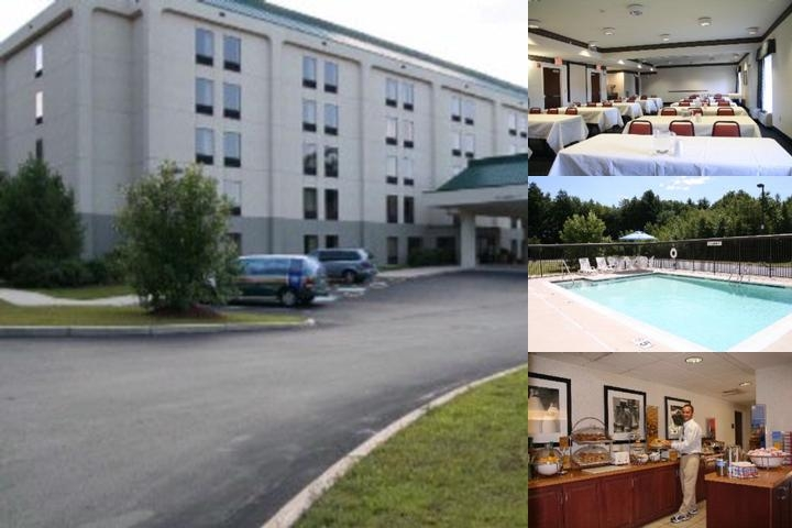 Hampton Inn Saco photo collage
