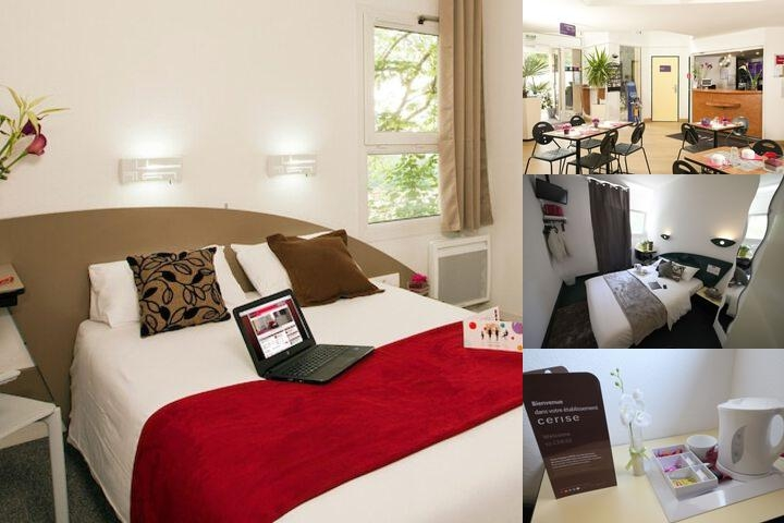 Hotel Cerise Nancy photo collage