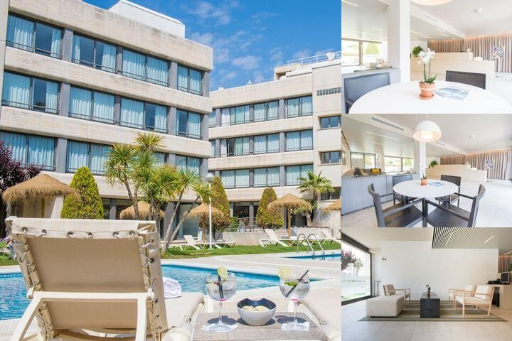 Atenea Park Suites Apartments photo collage