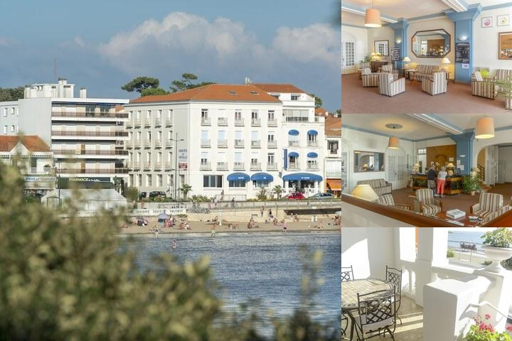 Grand Hotel De La Plage photo collage
