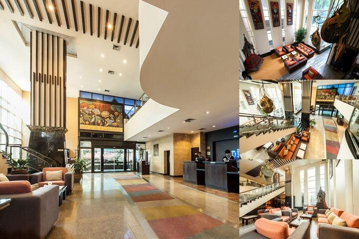 Pinnacle Lumpinee Hotel photo collage