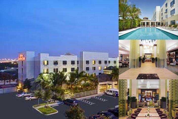 Hilton Garden Inn West Palm Beach Airport photo collage