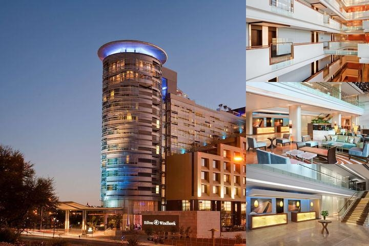 Hilton Windhoek photo collage