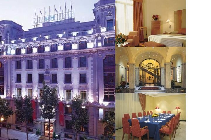 NH Collection Madrid Abascal photo collage