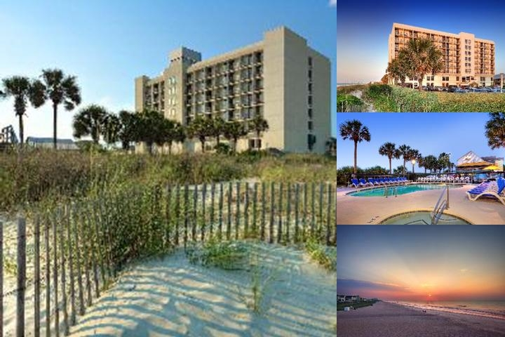 Surfside Beach Oceanfront Hotel photo collage