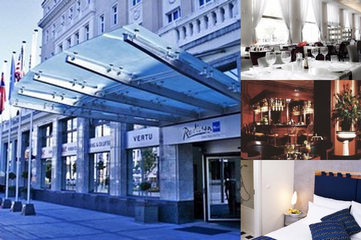 Radisson Blu Carlton Hotel Bratislava photo collage