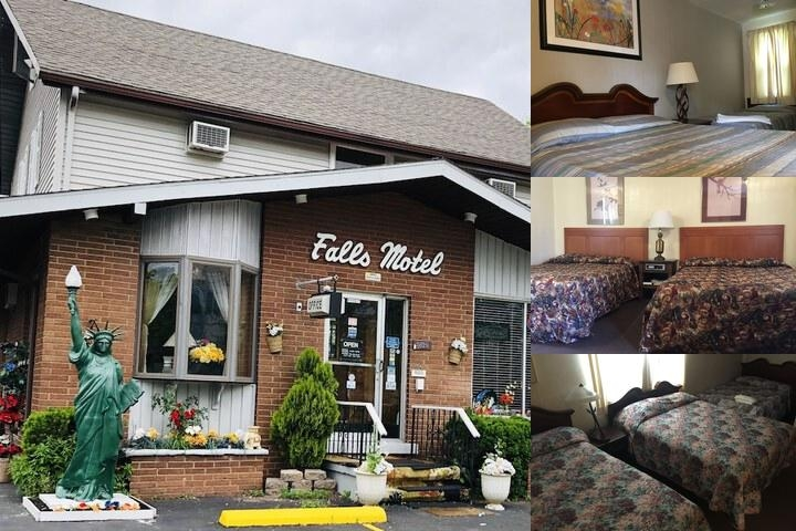 Falls Motel photo collage