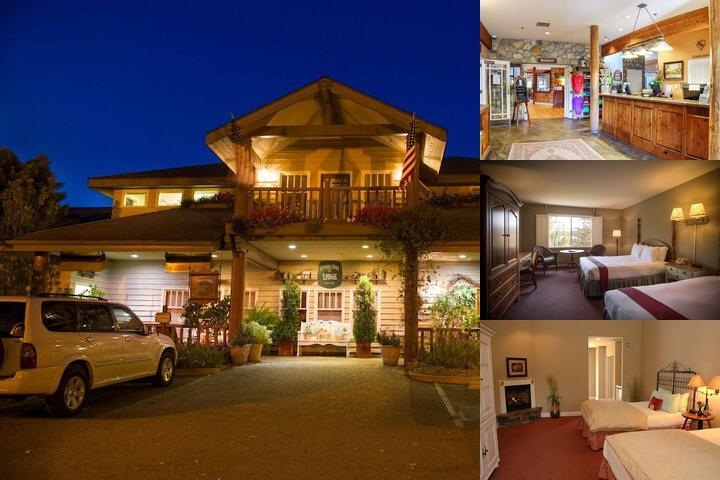 Cambria Pines Lodge photo collage