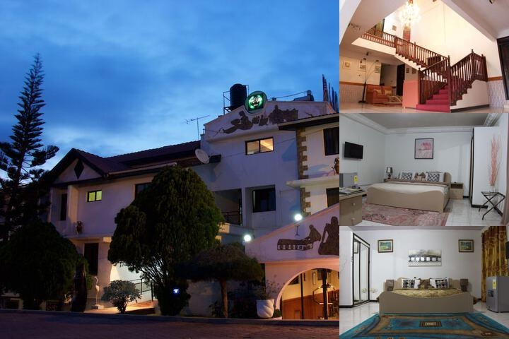 Hillview Hotel photo collage