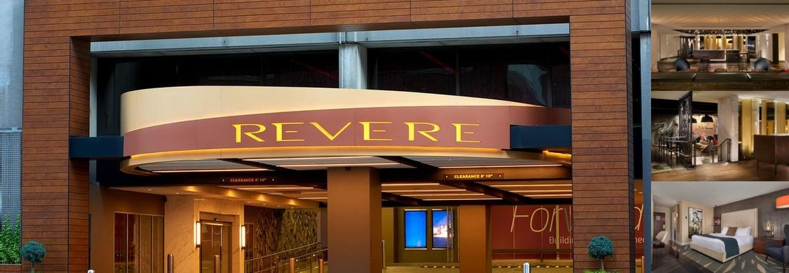 Revere Hotel photo collage