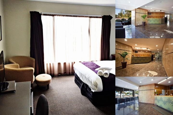 Auckland Airport Kiwi Hotel photo collage