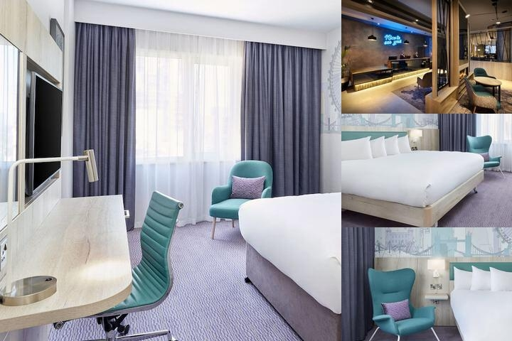 Jurys Inn Croydon photo collage