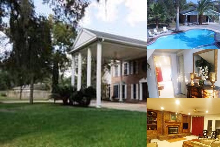 Lux Estate Mansion Sleeps 24 Tx Medical Center photo collage