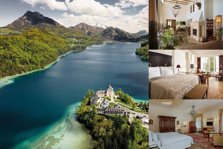 Schloss Fuschl Resort & Spa Fuschlsee Salzburg photo collage