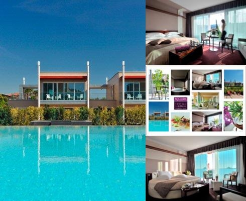 Aqualux Hotel Spa & Suite photo collage