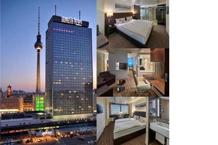 Park Inn by Radisson Berlin Alexanderplatz photo collage