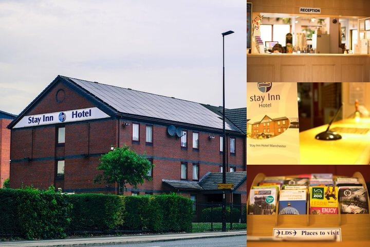 Stayinn Hotel Manchester photo collage