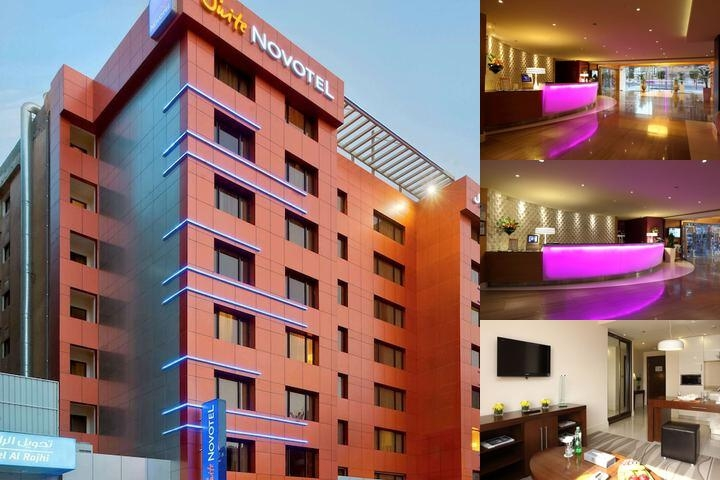 Novotel Suites Riyadh Olaya photo collage